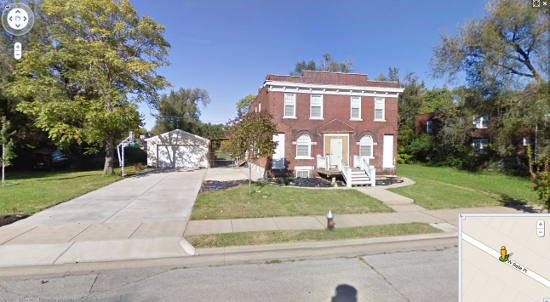 4233 West Belle Place. Image by Google Maps.