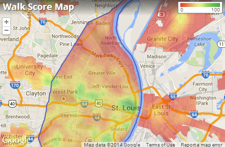 St. Louis Apartments for Rent and St. Louis Rentals   Walk Score