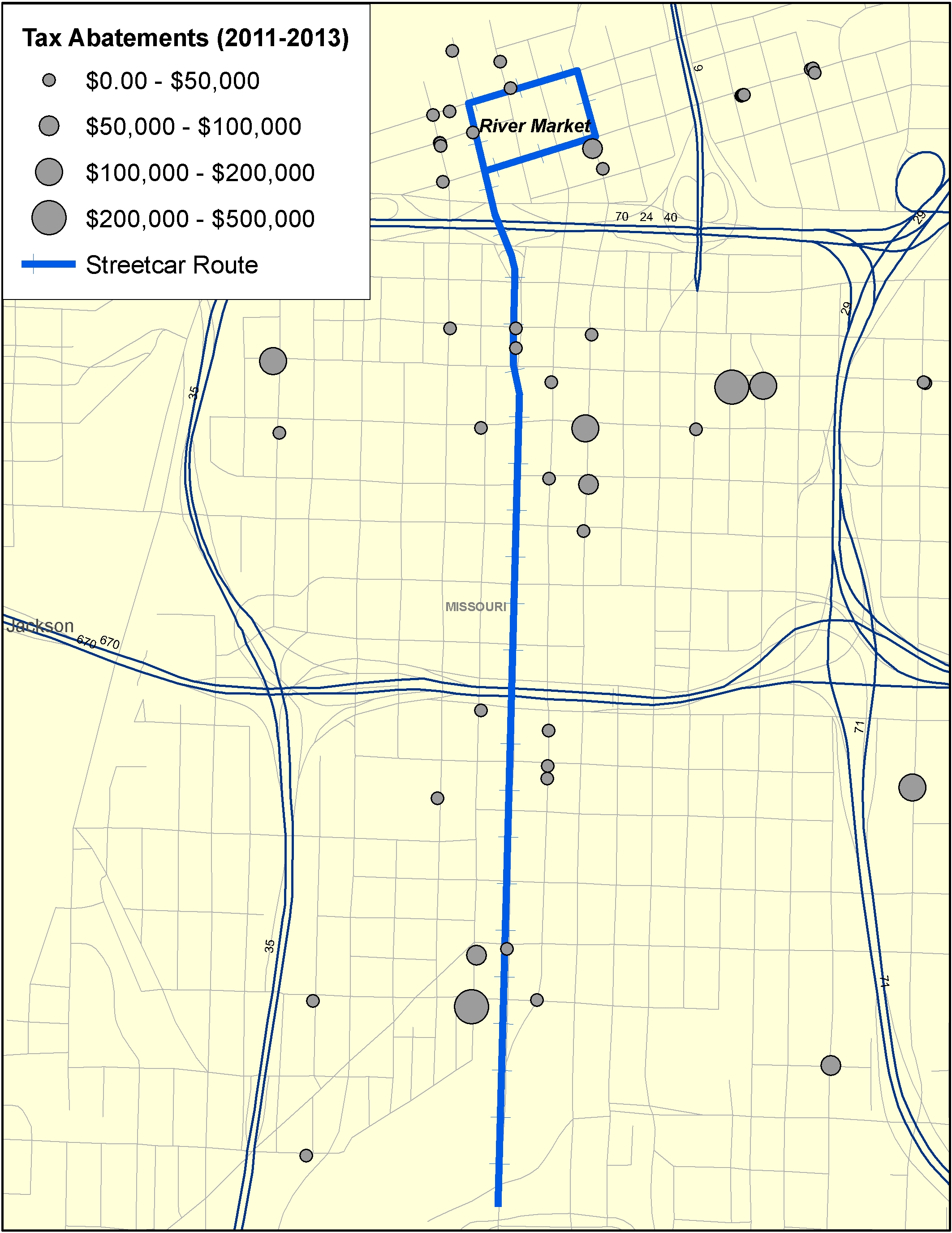 Map Series: VIII. The Kansas City Streetcar and Tax Abatements ... on missouri state road map, worlds of fun map, hd map, hebron ne map, earth city missouri map, kl map, na map, compromise of 1820 map, paul map, great plains usa map, de map,