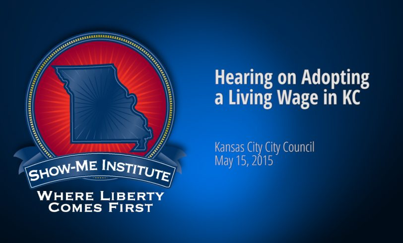 Hearing on Adopting a Living Wage