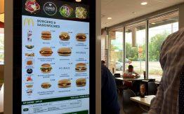 The kiosk at McDonalds>