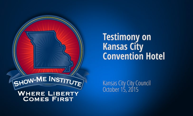 Hearing on the Kansas City Convention Hotel