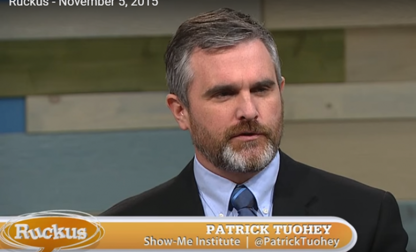 Patrick Tuohey appears on Ruckus, November 05, 2015