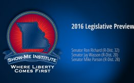 2016 Missouri Legislative Preview with Sen. Ron Richard>