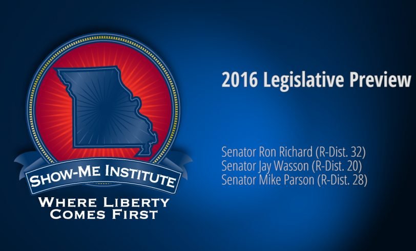 2016 Missouri Legislative Preview with Sen. Ron Richard