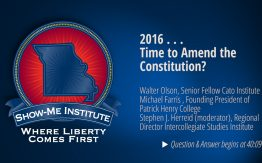 2016 . . . Time to Amend the Constitution?>
