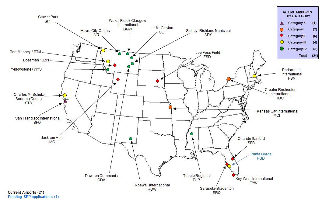 Be Like Kansas CityAvoid The TSA ShowMe Institute - Map of major airports in us