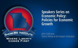 Speakers Series John Cochrane Economic Growth>