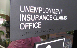 Unemployment office>