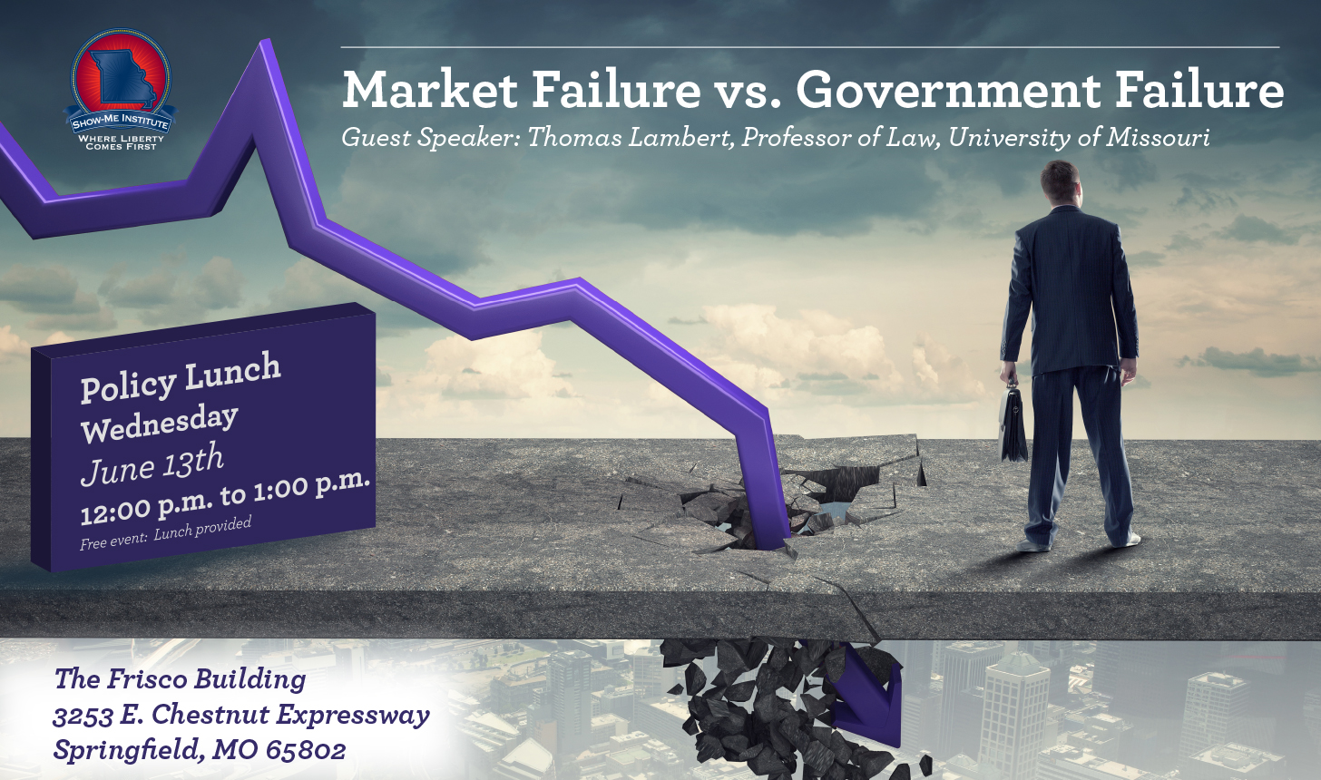 Market Failure vs. Government Failure - Springfield Policy Lunch