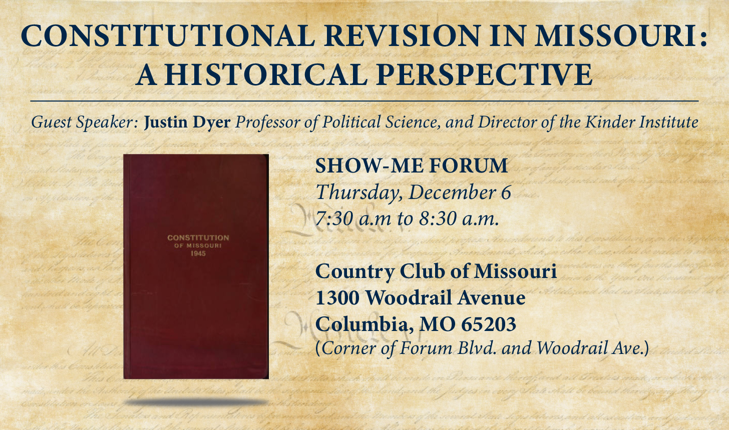 Constitutional Revision in Missouri