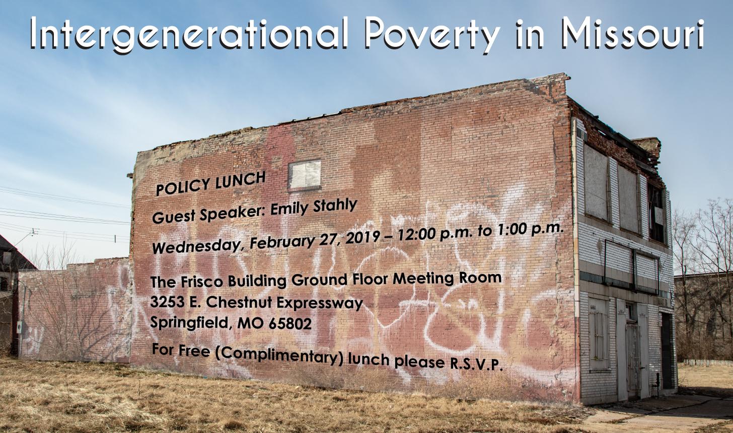 Intergenerational Poverty