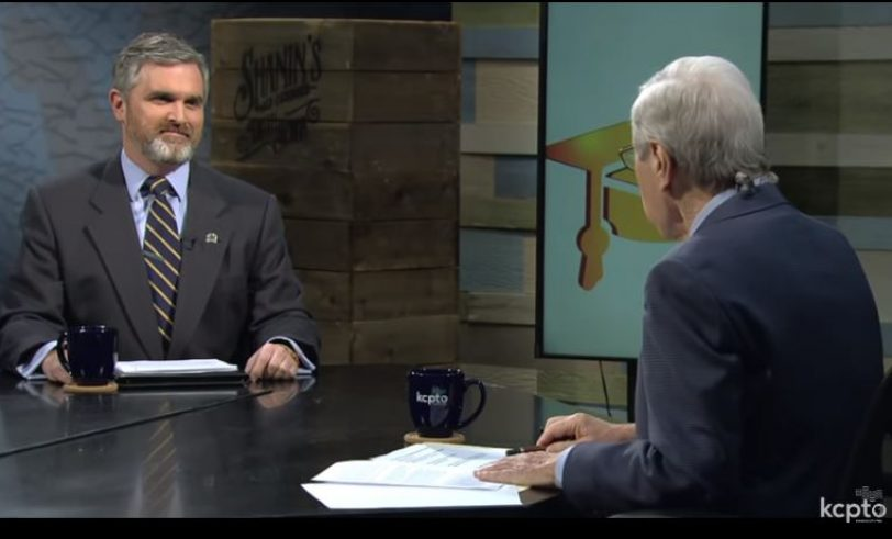 Patrick Tuohey on KCPT's Ruckus