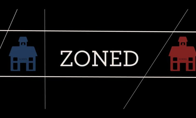 Zoned banner