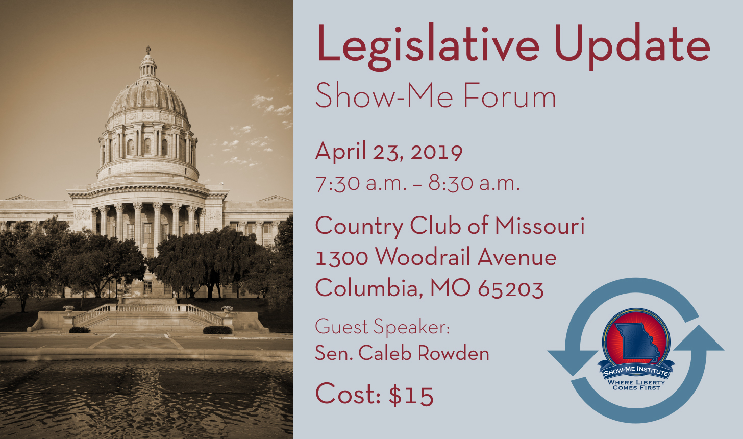 Legislative Update - Columbia Forum