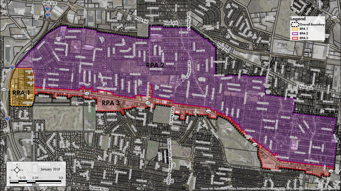 University City TIF map