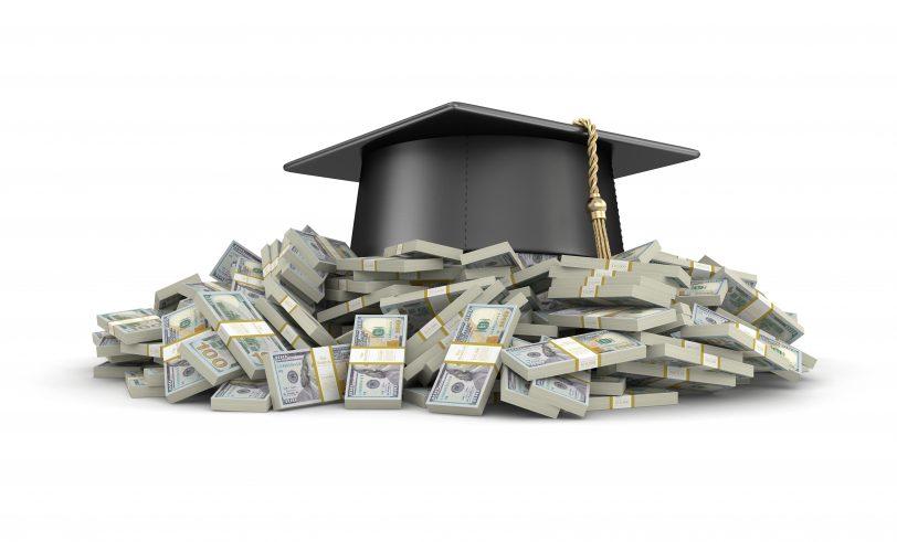 Graduation cap dollars