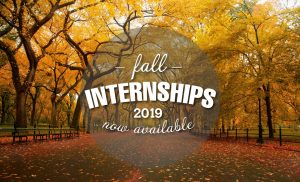 Post Fall 2019 Internships Thumbnail