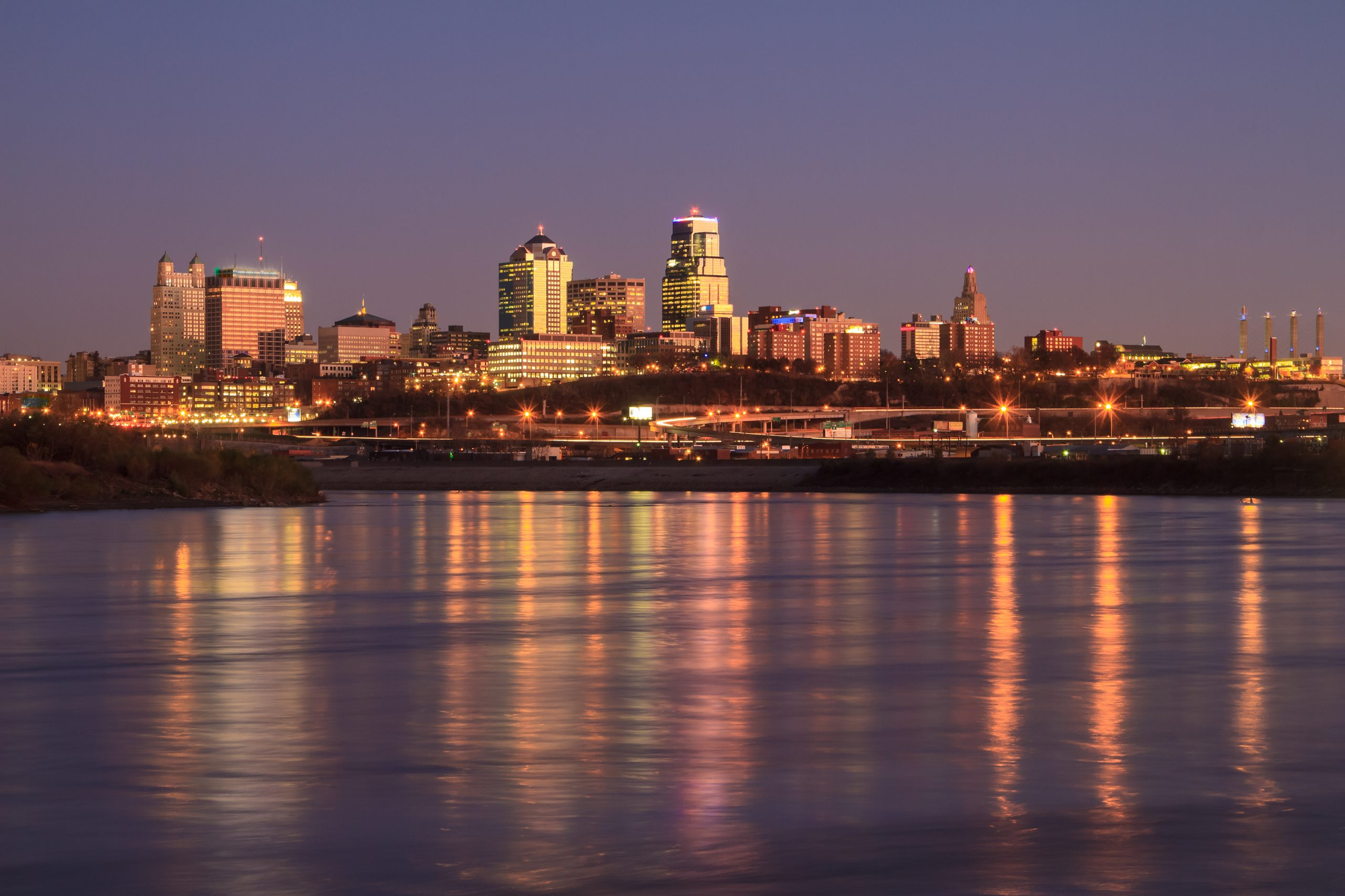 Kansas City river