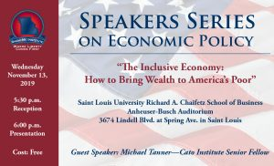 Post Free Lecture: Cato Institute's Michael Tanner on How to Bring Wealth to America's Poor Thumbnail