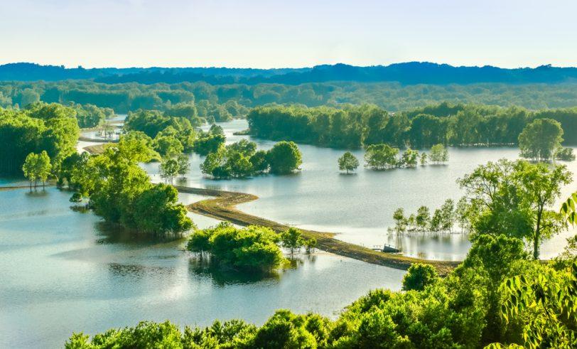 Missouri River floodplain