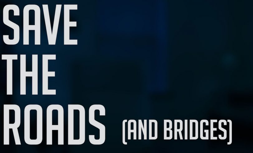 Roads and bridges banner