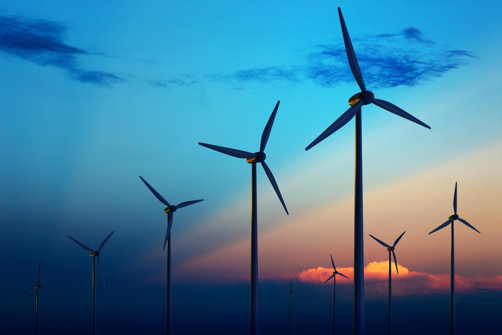 Wind plant