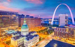 St. Louis skyline>