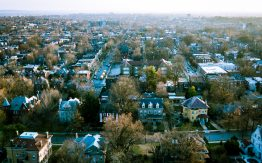 Aerial view of South St. Louis>