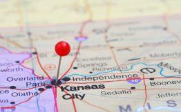 Map showing Kansas City>