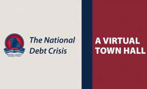 Post Virtual Town Hall – The National Debt Crisis with Brian Riedl Thumbnail