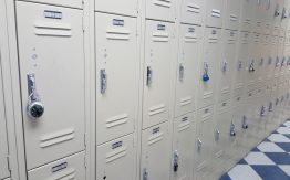 School lockers>
