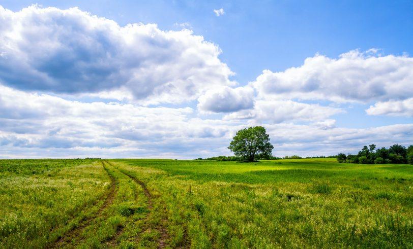 Rural Missouri scene
