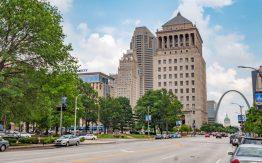 St. Louis street view>