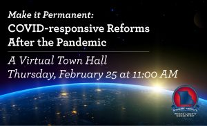 Post Town Hall – Make it Permanent: COVID-responsive Reforms After the Pandemic Thumbnail