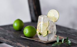 Gin and tonic>