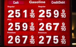 Gas prices>