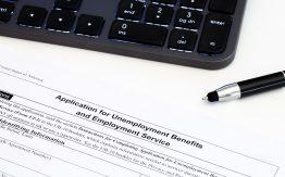 Unemployment benefits form>