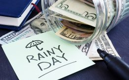 Rainy day fund>