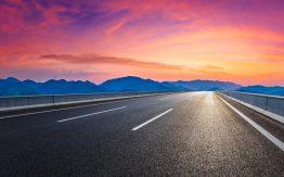 Empty highway>