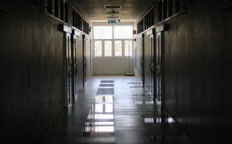 Empty hallway>