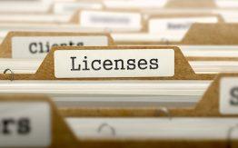 License file folder>