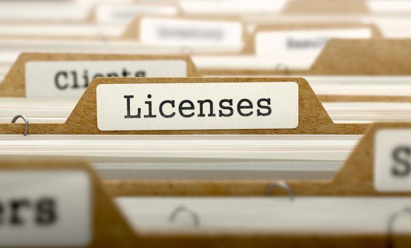License file folder