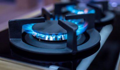 Gas stove>