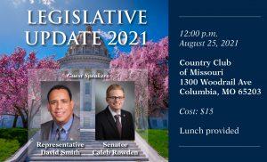 Post In-Person Legislative Update 2021 (Columbia) Thumbnail