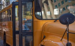 School bus>