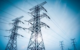 Power lines>